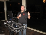 Here's our DJ from Boogie Down DJ Service who played our era music all night long (not too loud).  Wayne Giroux created