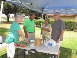 "Talk turns from food to the idea of a 55th Reunion.  ""Let's do it!"" says Sheila, Craig, and Lois (Nagy) S"