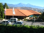 Kellogg West Hotel & Conference Center where the Reunion 'Main Event' was held. (View from the area of the hospitality